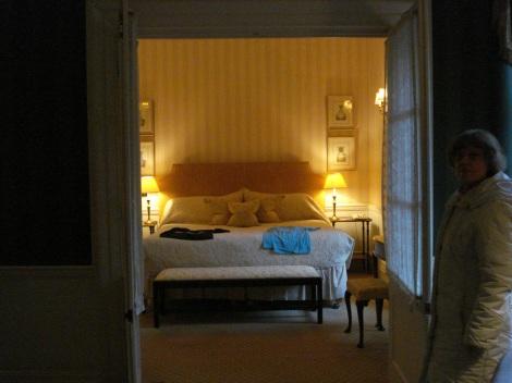 Das Schlafzimmer.
