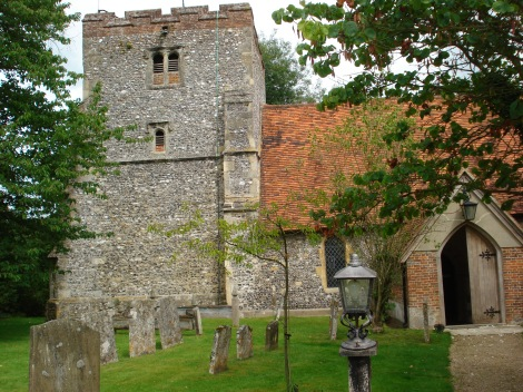 St Mary the Virgin in Turville (Buckinghamshire) Eigenes Foto.
