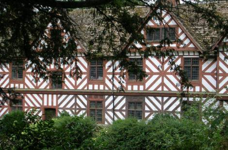 Pitchford Hall.   © Copyright Betty Longbottom and   licensed for reuse under this Creative Commons Licence.