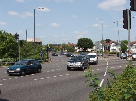 Hanger Lane Gyratory.    © Copyright David Hawgood and   licensed for reuse under this Creative Commons Licence.