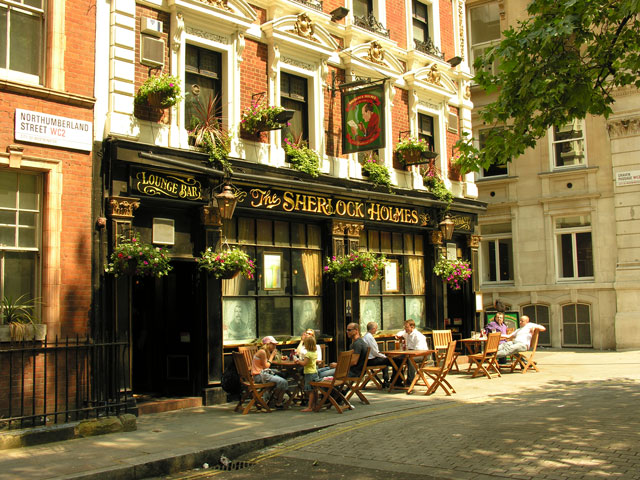 Meine LieblingsPubs – The Sherlock Holmes in London  Ingos England