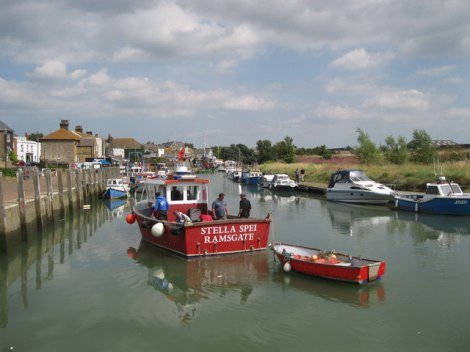 Queenborough Harbour.    © Copyright Bob Jones and   licensed for reuse under this Creative Commons Licence.