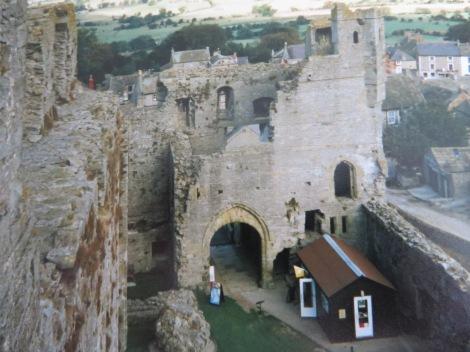 Middleham Castle. Eigenes Foto.