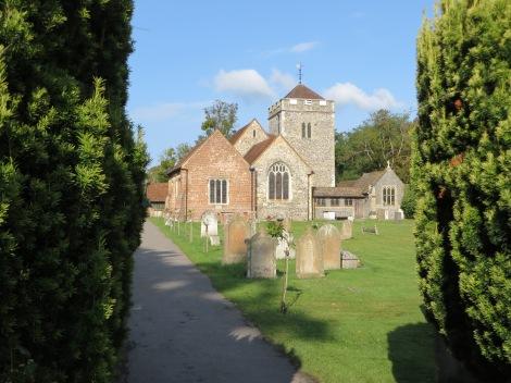 St Giles in Stoke Poges. Eigenes Foto.