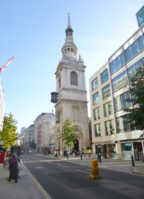 St Mary-le-Bow.    © Copyright Mike Faherty and   licensed for reuse under this Creative Commons Licence.