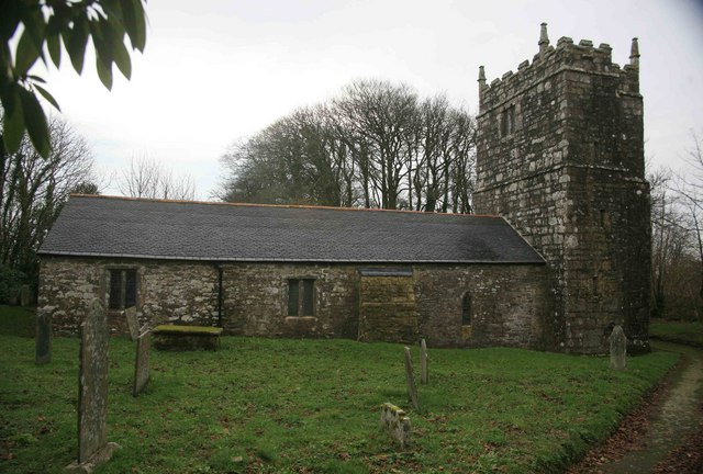 St Bartholomew's in Warleggan heute.  © Copyright roger geach and licensed for reuse under this Creative Commons Licence.