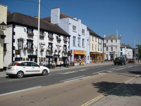The Quay in Bideford (Devon).    © Copyright Philip Halling