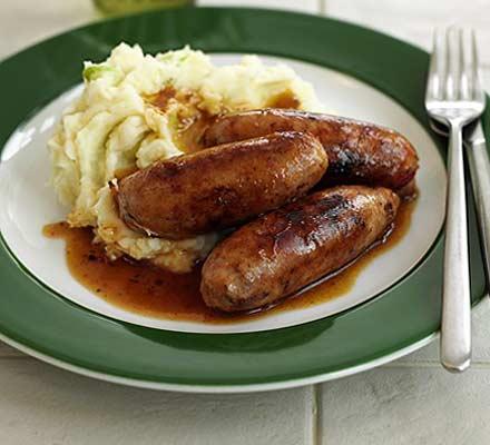 Image result for bangers and mash