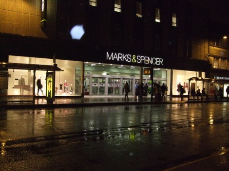 Marks & Spencer in Brighton.    © Copyright Paul Gillett and   licensed for reuse under this Creative Commons Licence.