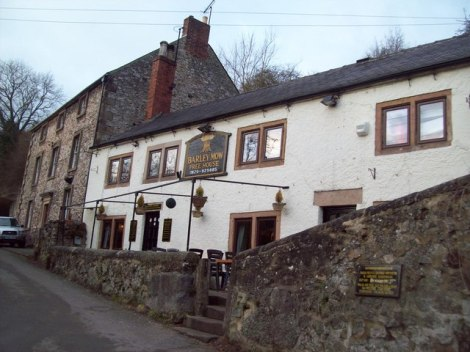 The Barley Mow in Bonsall.   © Copyright Jonathan Clitheroe and licensed for reuse under this Creative Commons Licence.