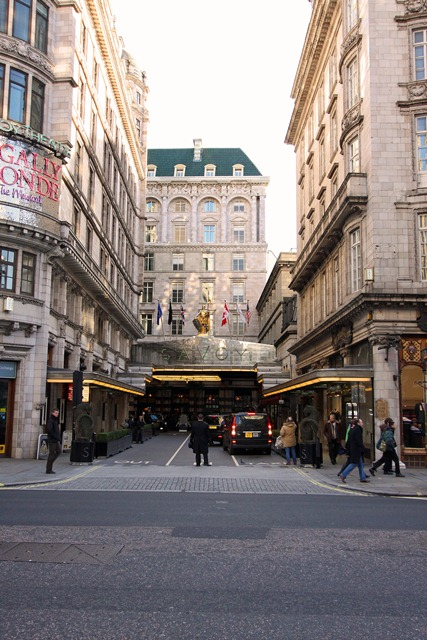 Hotel Savoy London Tea Time