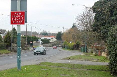 Die A4 in Chippenham. An dieser Straße endete das kurze Leben des Eddie Cochran.  © Copyright Maurice Pullin and licensed for reuse under this Creative Commons Licence.