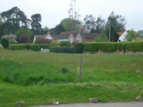 Das Village Green von Crocker End. Eigenes Foto.
