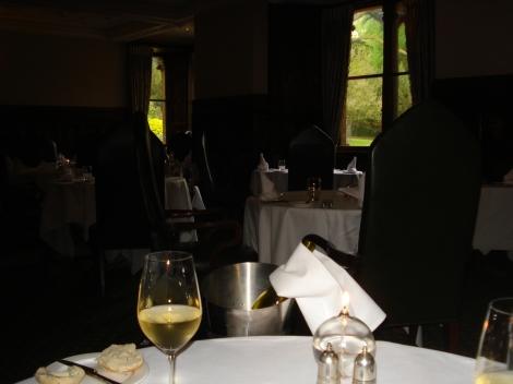 Unser Tisch im Restaurant. Eigenes Foto.