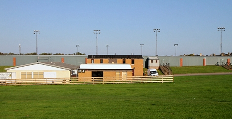 Shielfield Park, das Stadion der Berwick Rangers.    © Copyright Walter Baxter and   licensed for reuse under this Creative Commons Licence.