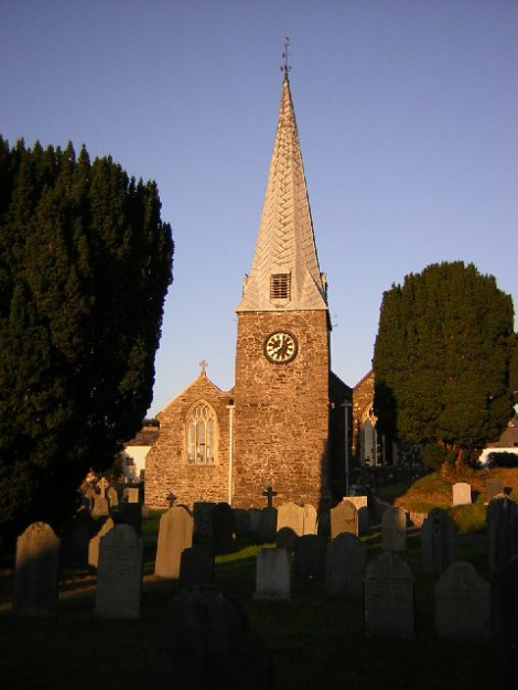St James Church in Swimbridge.    © Copyright Richard Croft and   licensed for reuse under this Creative Commons Licence.