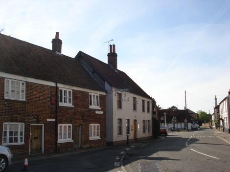 The Fat Duck in Bray (Berkshire), nach wie vor eines der besten Restaurants in England. Eigenes Foto.