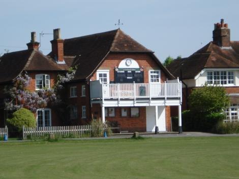 Die Village Hall von Littlewick Green. Eigenes Foto.