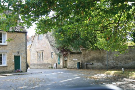 Die Bampton Library bzw.    © Copyright andrew auger