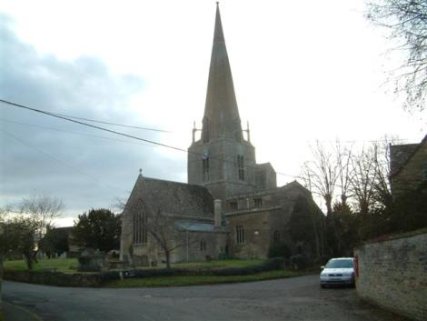 St Mary's in Bampton.    © Copyright Colin Bates