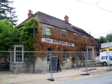 Dining Pub of the Year 2013: The Beckford Arms in Fonthill Gifford (Wiltshire).   © Copyright Miss Steel