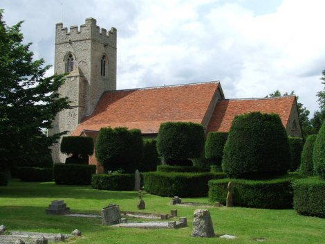 Borley Parish Church.   © Copyright Keith Evans
