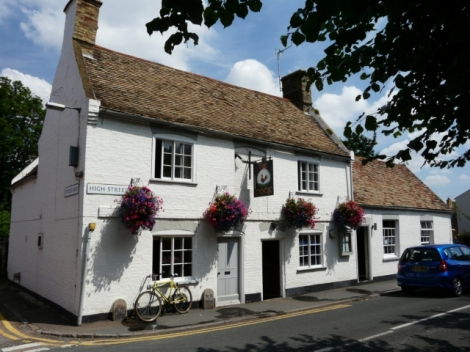 Pub of the Year 2013: The Cock Inn in Hemingford Grey (Cambridgeshire).   © Copyright Graham Taylor