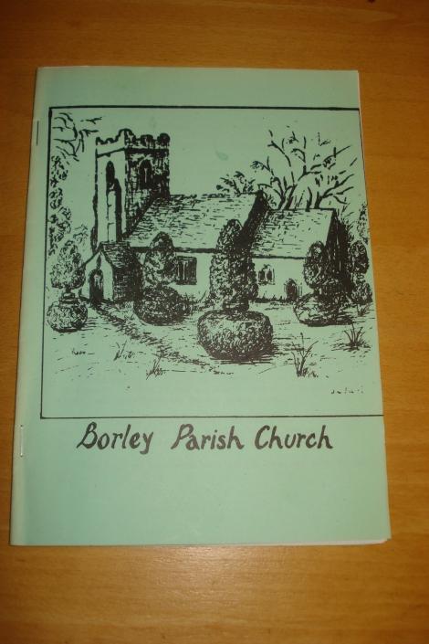 Die Broschüre, die ich aus der Kirche mitnahm.Eigenes Foto.
