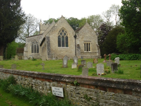St Bartholomew's in Brightwell Baldwin. Eigenes Foto.