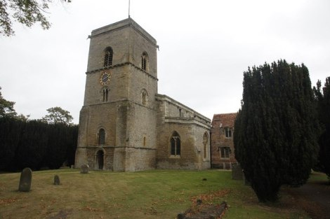 Die All Saints Church in Sutton Courtenay.   © Copyright Bill Nicholls