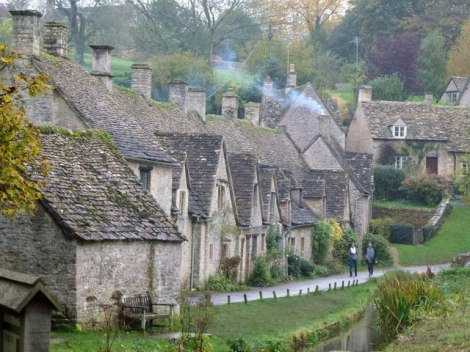 Arlington Row in Bibury (Gloucestershire).   © Copyright John Darch