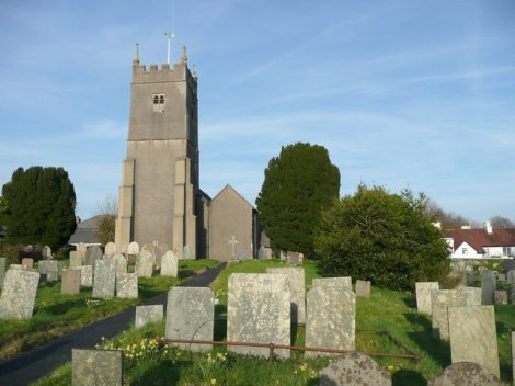 St Michael's Church in Shebbear.   © Copyright Humphrey Bolton
