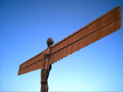 The Angel of the North.this work, release this work into the public domain