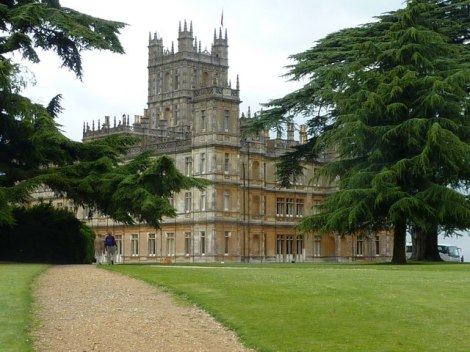 Highclere Castle.   © Copyright pam fray