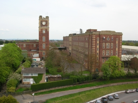 Die ehemalige Schokoladenfabrik Terry's in York.  © Copyright DS Pugh