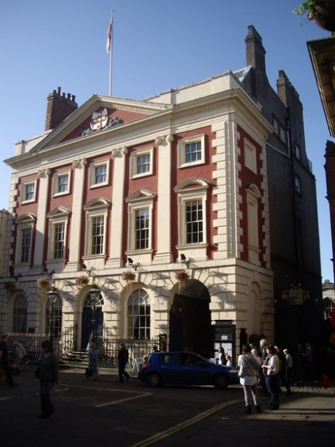Das Mansion House in York. Hier finden zahlreiche Workshops zum Thema Schokolade statt.  © Copyright Stanley Howe