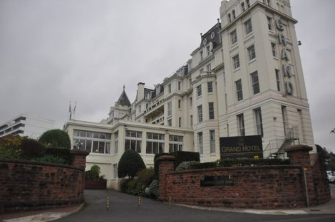 The Grand Hotel in Torquay.    © Copyright Lewis Clarke