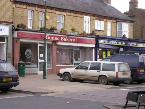 Gunns Bakery in Sandy (Berkshire).    © Copyright St Swithun's VC Lower School