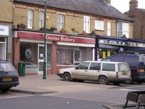 Gunns Bakery in Sandy (Berkshire).   © Copyright St Swithun's VC Lower School