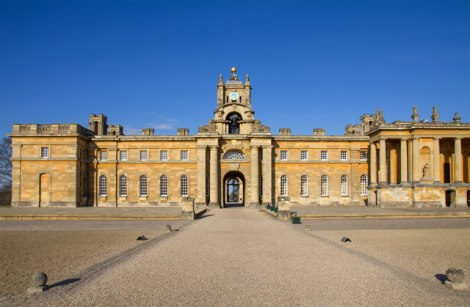 Blenheim Palace.    © Copyright David P Howard