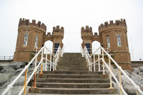 Die Pier Towers in Withernsea.    © Copyright Richard Croft