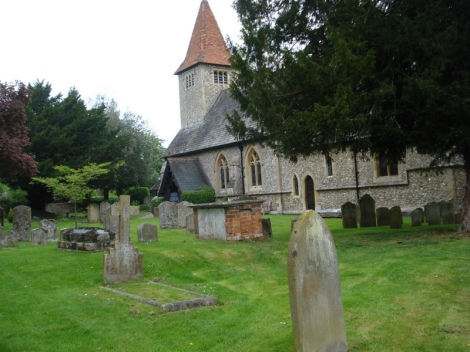 All Saints in Rotherfield Peppard (Oxfordshire). Eigenes Foto.