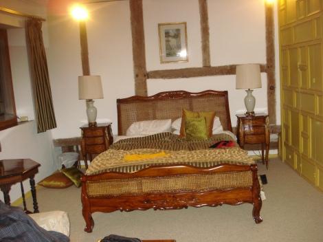 Unser Zimmer im Long Crendon Manor. Eigenes Foto.