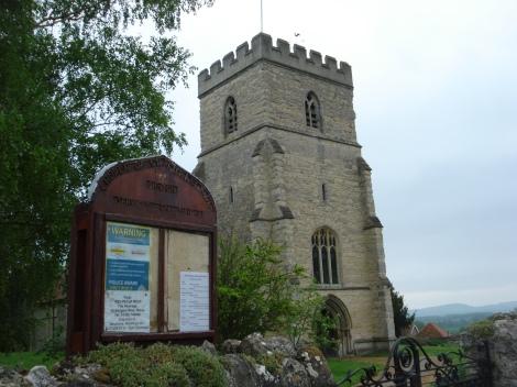 St Peter & St Paul in Dinton. Eigenes Foto.