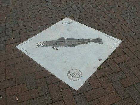 "Der ""Cod"" (Kabeljau) am Beverley Gate.   © Copyright Eirian Evans"