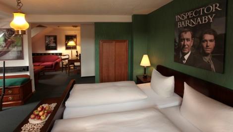 Die Barnaby Suite. Mit freundlicher Genehmigung des Krimi Hotels.