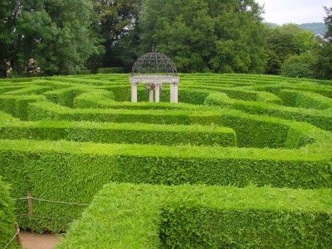 """Hier im Jubilee Maze in Symonds Yat wurde """"Secret Garden"""" gedreht.   © Copyright Bob Jenkins"""