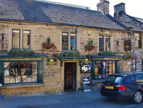 The Old Original Bakewell Pudding Shop. The Old Original Bakewell Pudding Shop.    © Copyright Eugene Birchall