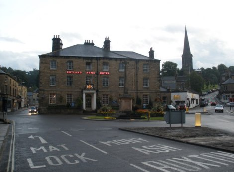 The Rutland Arms Hotel.    © Copyright Roger Cornfoot