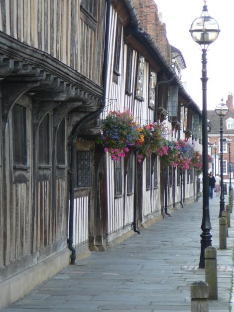 Stratford-upon-Avon einmal fast ohne Menschenmassen. Eigenes Foto.